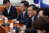 [포토]최저임금 당정, 발언하는 김태년 정책위의장