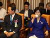 [포토]제69주년 제헌절 경축식, '환담 나누는 내빈들'