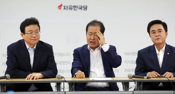 홍준표式 자유한국당 개혁..`극우논란` 시작부터 삐걱?