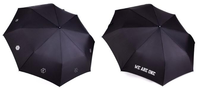 스타 상품도 편의점에서···세븐일레븐, '엑소 우산' 판매