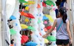 서울광장 `빗물축제`