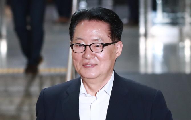 박지원 `안철수, 당 대표 출마하지 않을 것`