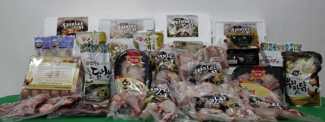 말복엔 성인병 예방하고 체지방 억제하는 `우리맛닭`