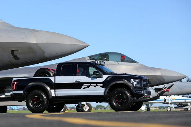 [포토] 강인한 성능을 자랑하는 포드 `F-150 랩터 F-22 콘셉`