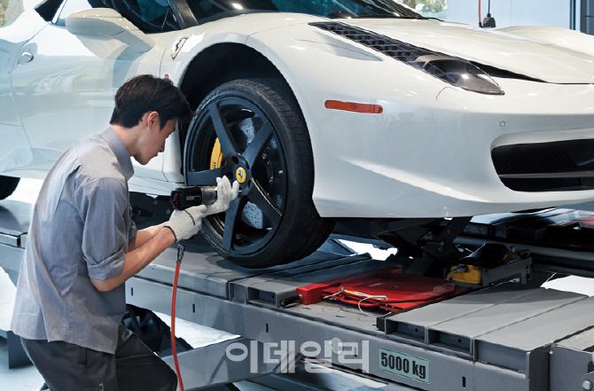 """""""차량 2대중 1대는 타이어 공기압 과다·부족"""""""
