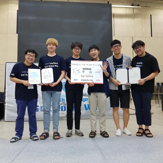 국민대팀, 카이스트 주관 로봇대회서 `대상`