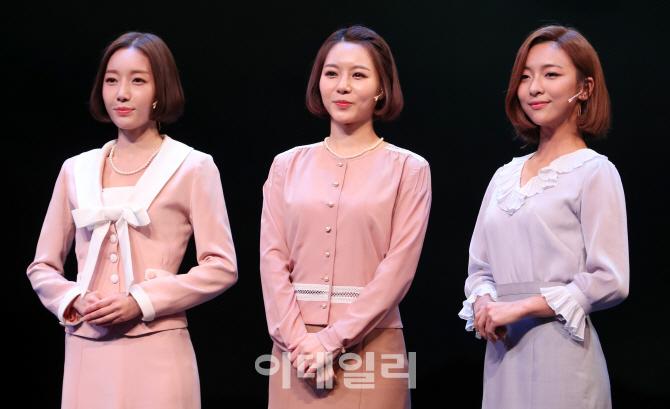 [포토]김금나-이지혜-루나, `레베카` 미녀들