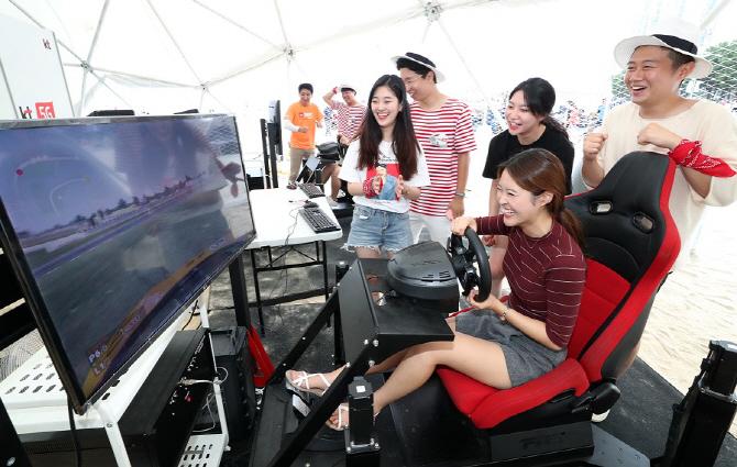 [포토]해운대서 미리 만난 5G 세상