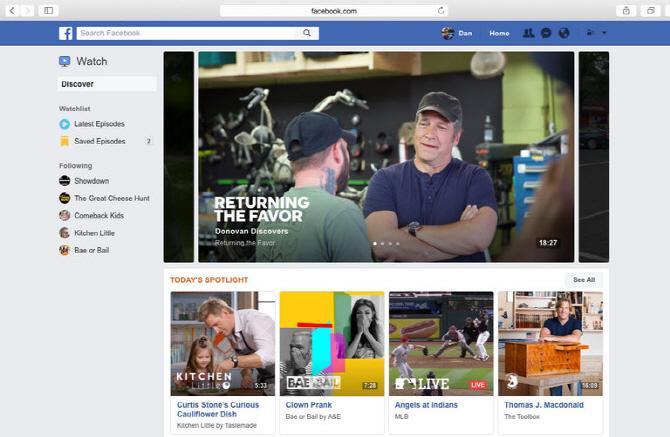국내 동영상 광고 2위 페이스북, 새 플랫폼 '워치' 공개..업계 긴장