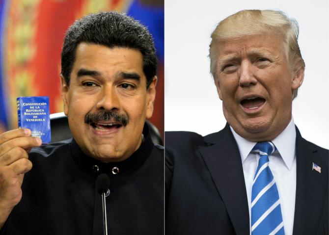 트럼프, 베네수엘라 軍개입 시사했다 `역풍`…美내부서도 비판