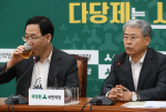 바른정당 국민의당 공동기자회견