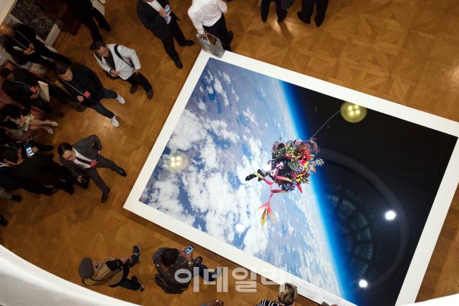 [포토] 후지필름, 중형 미러리스 GFX 50S를 상공 3만미터로 쏘아올려 촬영한 사진