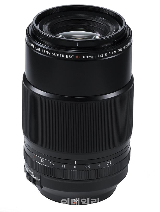 [포토] 후지필름, 후지논 XF80mmF2.8 LM OIS WR Macro 렌즈