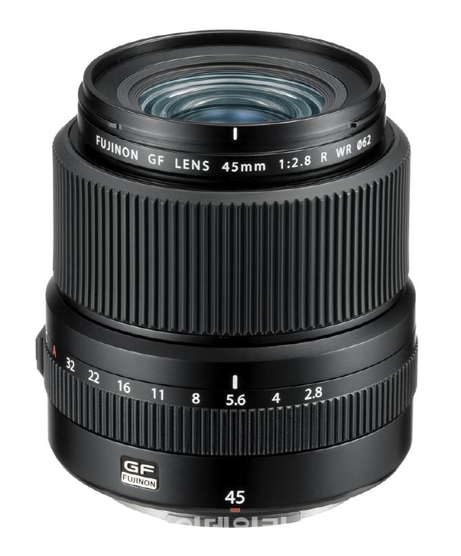 [포토] 후지필름, 후지논 GF45mmF2.8 R WR 렌즈
