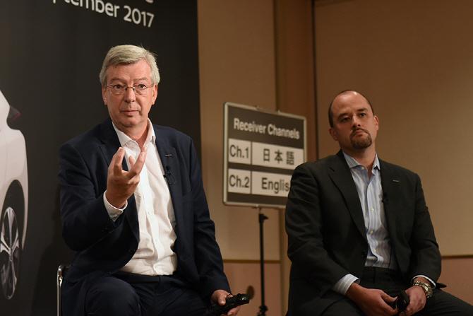 신형 닛산 리프 미디어 라운드 테이블(1) 신형 리프가 추구하는 상품성은 어떤 방향을 보고 있는가?