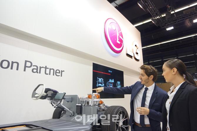 LG전자, 獨프랑크푸르트 모터쇼 첫 참가..전장 사업 영토 확장(종합)