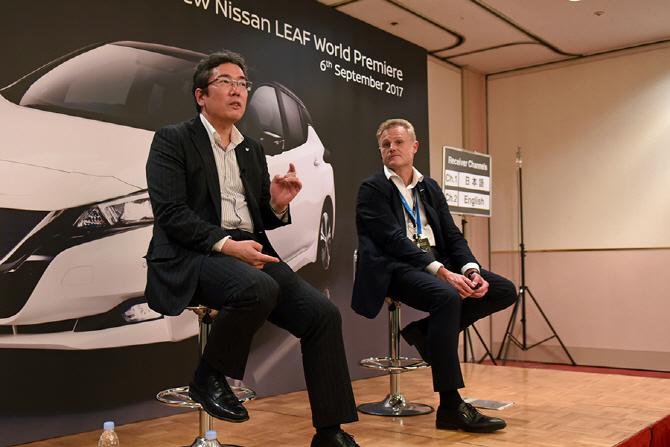 신형 닛산 리프 미디어 라운드 테이블(3) `전기차 시장의 현재 그리고 미래`