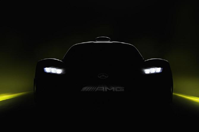 푸랑크푸르트 모터쇼에서 주목해야 할 차(10)  메르세데스-AMG 프로젝트 원