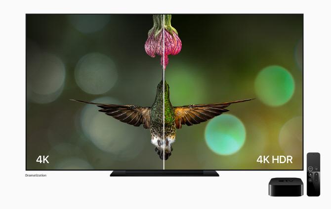 '거실을 영화관으로'…'애플TV 4K' 공개