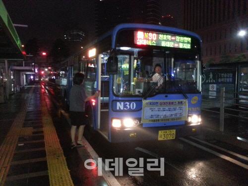 """서울시 """"240번 버스기사 위법사항 없는 것으로 결론"""""""