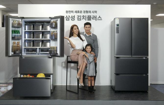 삼성 김치냉장고 전략 `아삭→플러스`..바나나도 보관한다