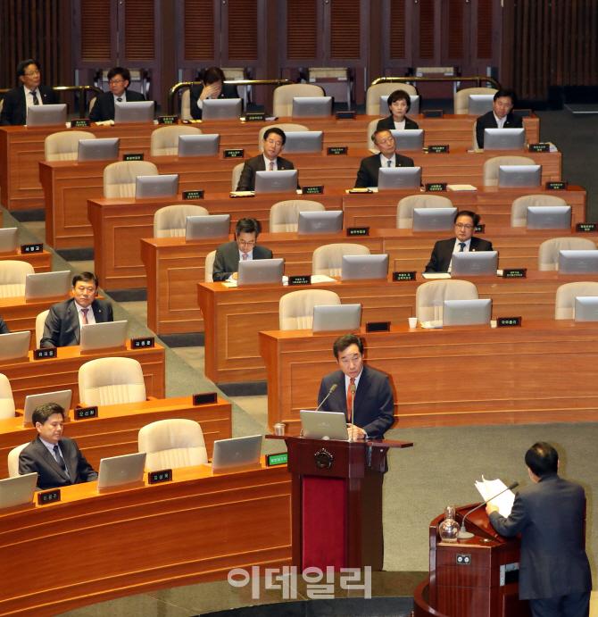 [포토]국회에 나온 경제분야 수장들