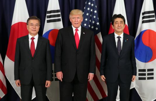 한미일 정상회담·트럼프 11월 방한, 북핵해법 분수령 될까?