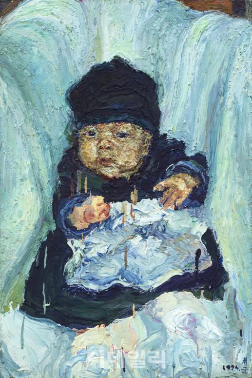 [e갤러리] 23년 전 `오치균`의 마음을 뺏은 아이…오치균 `첫돌`