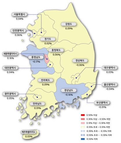 서울 아파트 매맷값 6주만에 반등..가을 이사철 전셋값도 꿈틀
