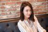 [포토] 티볼리 아머와 함께 포즈를 취하는 레이싱 모델 김보람