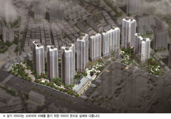 포스코건설, 내달 '의왕 더샵캐슬' 분양