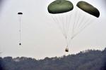 제5공중기동비행단, 중장비 공중보급 훈련
