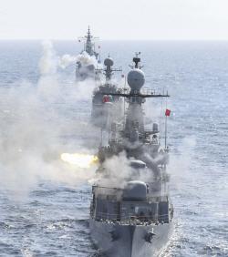 해군 1함대, 전술기동훈련