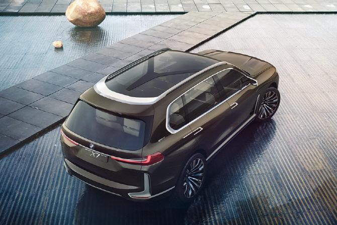 BMW X7 i퍼포먼스 - BMW의 럭셔리 SAV