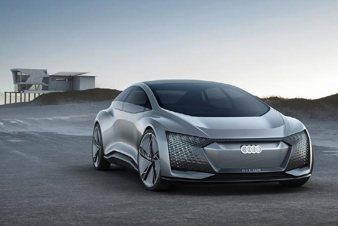 아우디 자율주행의 미래 아이콘 컨셉은 어떤 차?