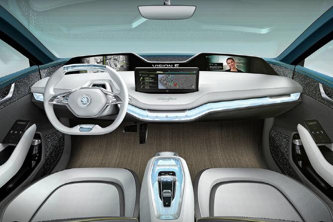 스코다 비전 E 컨셉 리뷰 - 스코다의 미래를 담은 전기차
