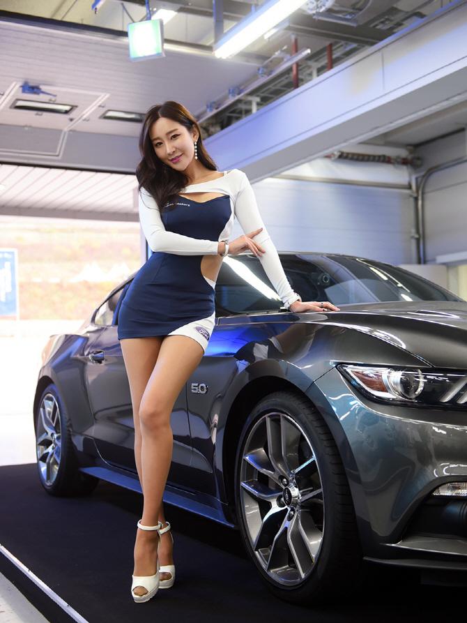 [머스탱 트랙데이] 머스탱 GT의 매력을 더하는 레이싱 모델 한지오