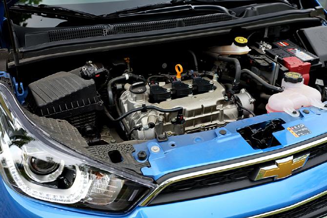기대 이상의 모습을 보여준 쉐보레 스파크의 1.0L 엔진