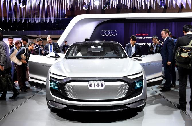 아우디 `일레인 EV 콘셉트카`, 전기차의 미래