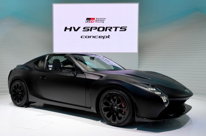 도요타 `GR HV 스포츠` 컨셉트, 세계 최초 공개