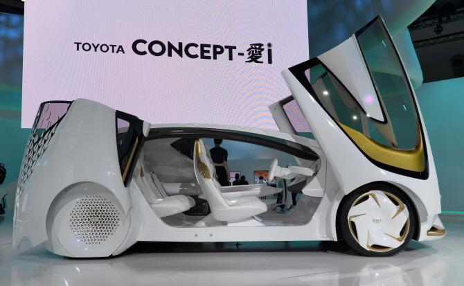 도요타 `콘셉트-i`, 질주하는 자율주행차