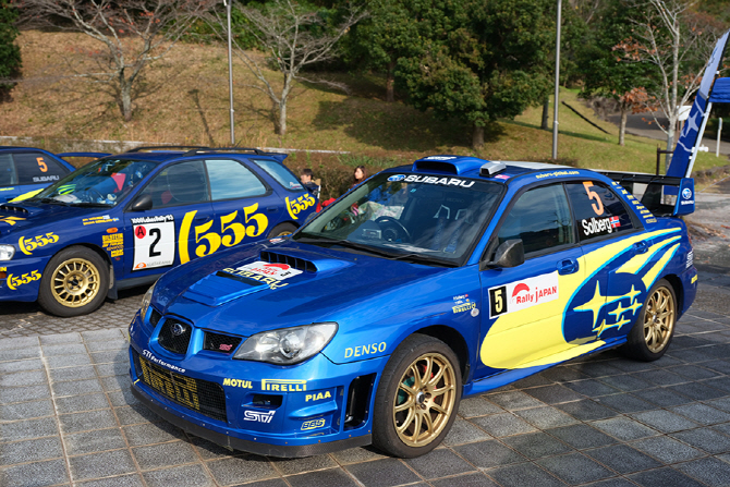 신시로 랠리 현장에서 WRC의 감성을 알린 스바루