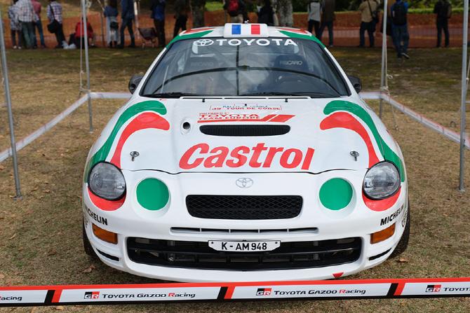 [가주 레이싱 파크] 캐스트롤 데칼이 돋보이는 셀리카 WRC 레이스카
