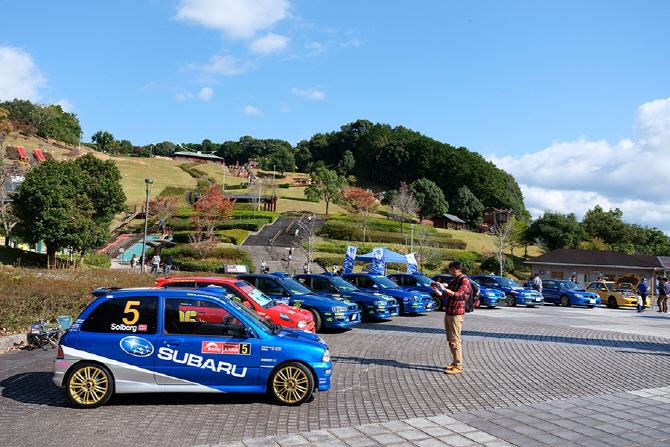 [신시로 랠리 2017] 다양한 모습으로 매력을 뽐내는 스바루 WRC 레플리카