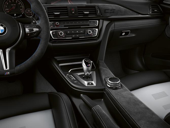 BMW 'M3 CS', 심플한 실내 인테리어