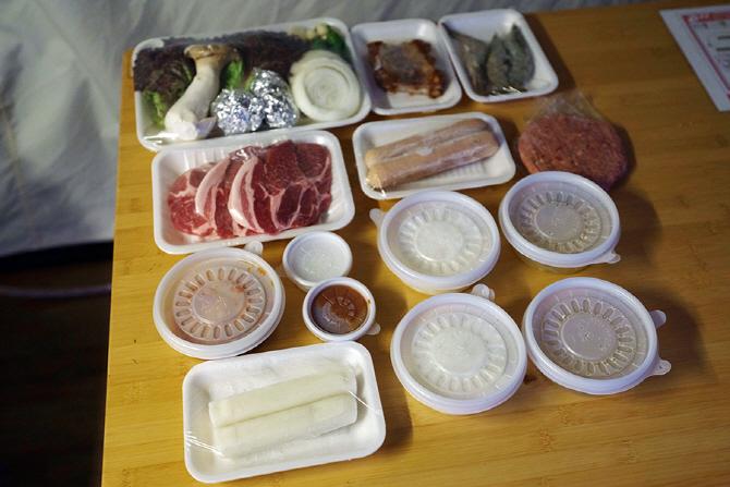[G4 렉스턴 고메 글램핑] 쌍용자동차가 고객들을 위해 마련한 저녁 식사