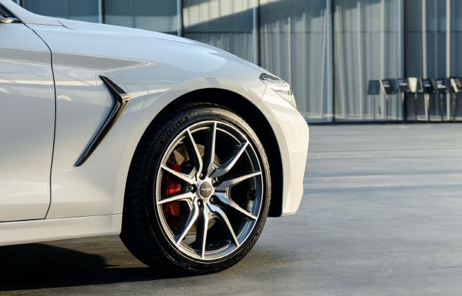 제네시스 'G70', 타이어 휠