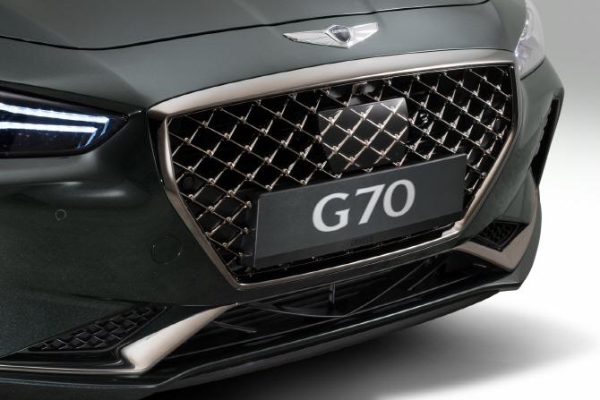 제네시스 'G70', 중동 데뷔전