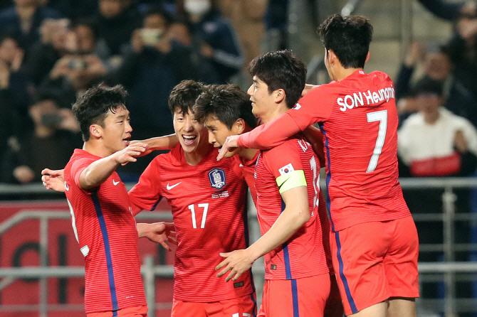 """해외매체 """"韓, 축구 최하위권…월드컵 나갈 실력 아냐"""" 일제히 혹평"""