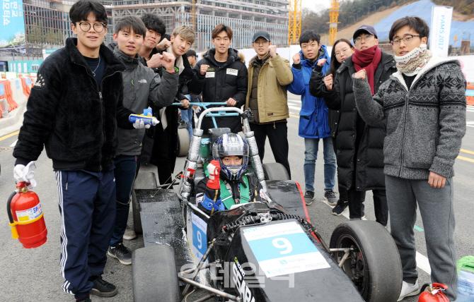 판교자율주행모터쇼'대학생 E-포뮬러 경주대회